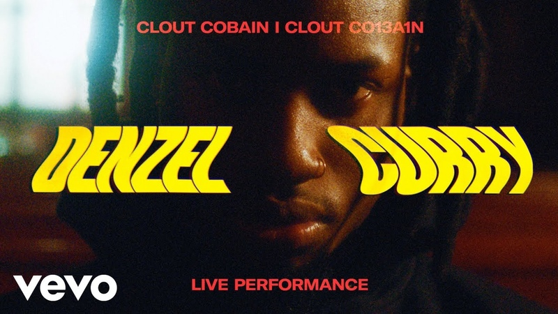 Denzel Curry CLOUT COBAIN I CLOUT CO13A1N Live Performance Vevo HHH