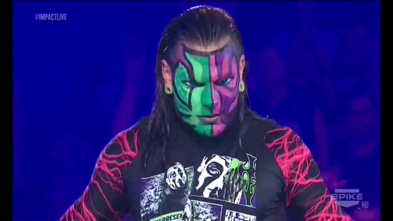 TNA Impact Wrestling! 07.09.2012 - Jeff Hardy vs Samoa Joe
