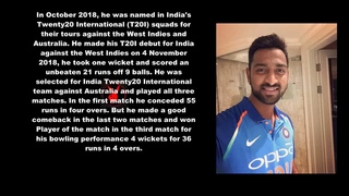 Kunal Pandya Indian Cricketer Biography With Detail