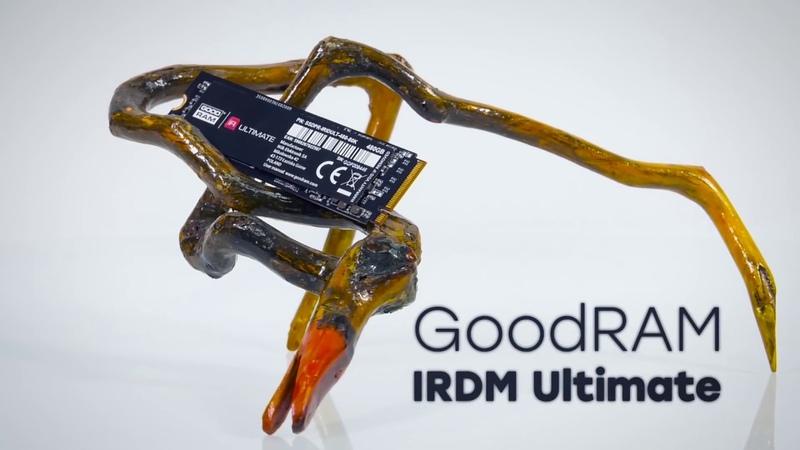 GoodRam Irdm Ultimate 480 ГБ: SSD-накопитель на MLC-памяти с адаптером для установки в слот PCIe