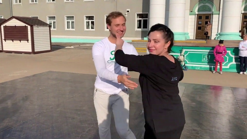 International Rueda de Casino Multi Flash Mob Stupino, Russia