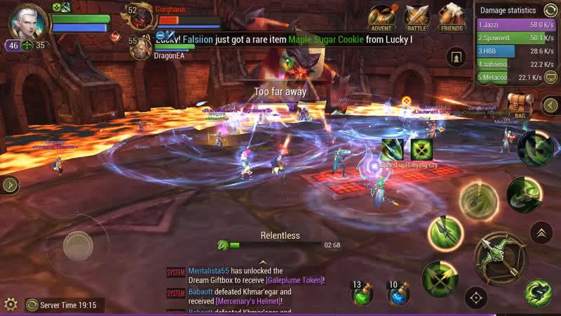 Crusaders Mobile MMO-RPG •[ VanDefo ]•