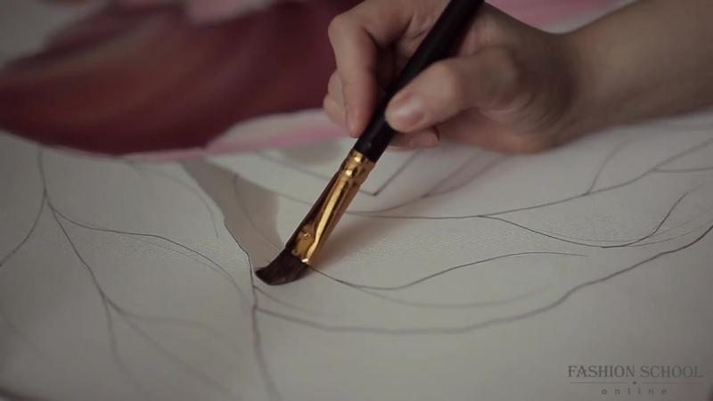 Курс по росписи ткани Батик