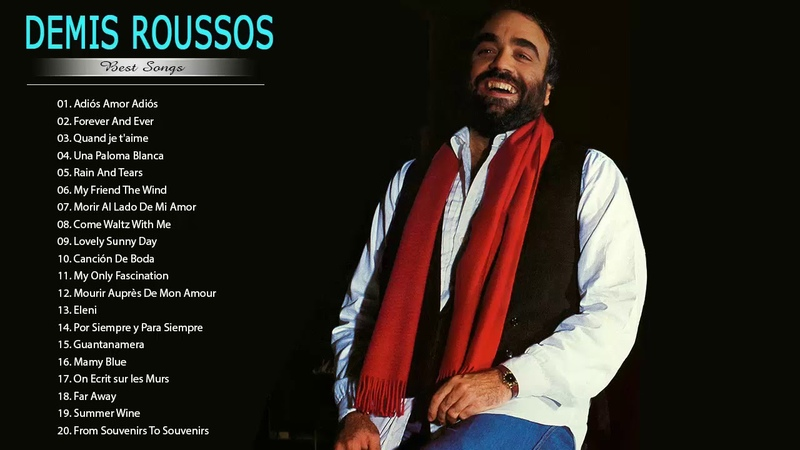 Demis Roussos Greatest Hits - Best Songs of Demis Roussos - Demis Roussos Full Collection 2018 » Freewka.com - Смотреть онлайн в хорощем качестве