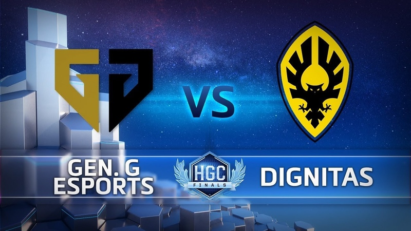 HGC Finals 2018 - Game 1 - Gen.G vs. Dignitas - Bracket Stage Finals