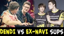 Dendi vs ex-NaVi supports — Puppey and Rodjer