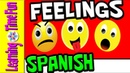 Feelings and Emotions in Spanish | Spanish for Kids | Feelings | Emociones para Niños | Baby Spanish