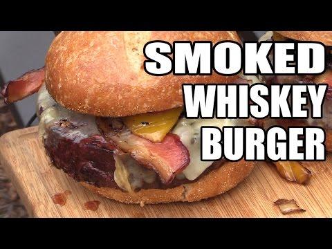 Smoked Whiskey Burgers
