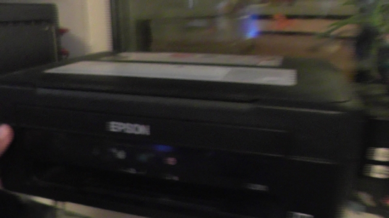 проверка метода реанимации принтера .......