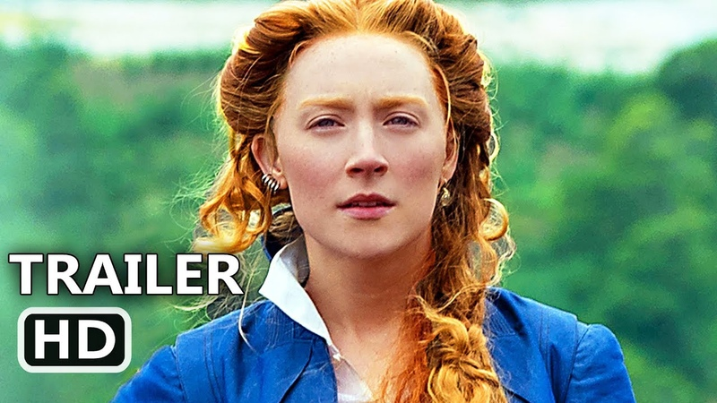 MARY QUEEN OF SCOTS Official Trailer 2018 Margot Robbie Saoirse Ronan Movie HD
