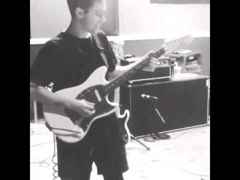 Zach Abels playing guitar~ West Coast