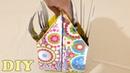 Do Lixo Ao Luxo : Porta Talheres com Caixa de Leite - DIY Artesanato Reciclagem