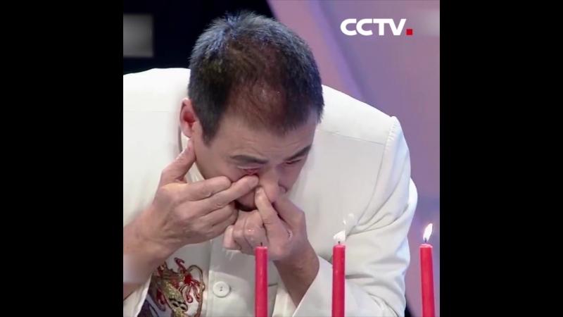 «пить» воду носом и выплевывать ее из глаз