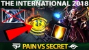 Most EPIC Invoker so FAR - w33 Invoker Player Perspective - Pain vs Secret Group Stage - Dota 2 TI8