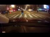 В Петербурге пешеход напал на водителя (13.10.2018)