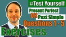 Present Perfect or Past Simple? | grammar exercises PART 1 (Questions 1-5)