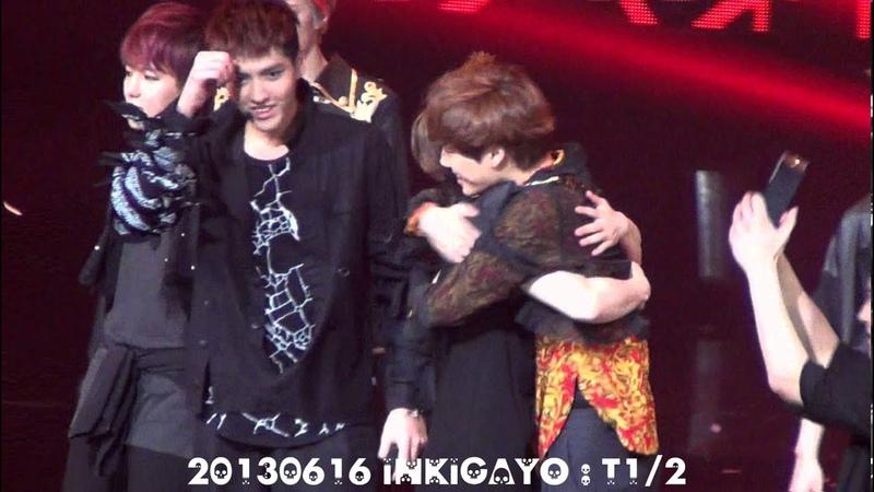 [fancam] 130616 EXO Encore @ inkigayo