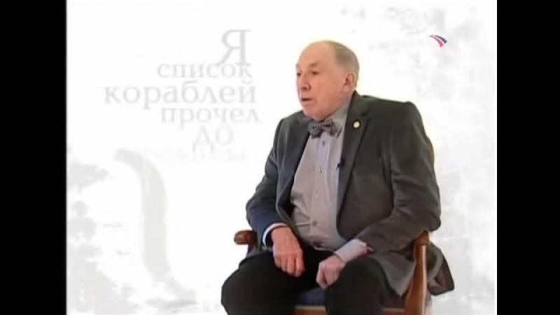 С.Юрский - Мандельштам-Бессонница.Гомер