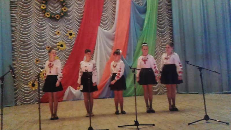 Група Родзинки обласний відкритий фестиваль З Україною в серці