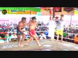 Бирманский бокс летхвей: жёсткие попадания. Win Htet Thu vs Kyaw Naing 2018.