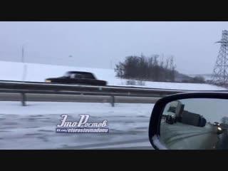 Дтп с перевёртышем возле Недвиговки -  - Это Ростов-на-Дону!