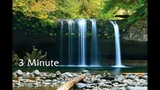 Reiki 3 Minute Timer Music and Nature Sounds ~ Mountain Stream and Ocean ~ 26 x 3 Minute Bells