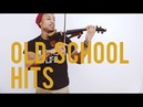 🔥Violinist throws down on some Old School hits🎻