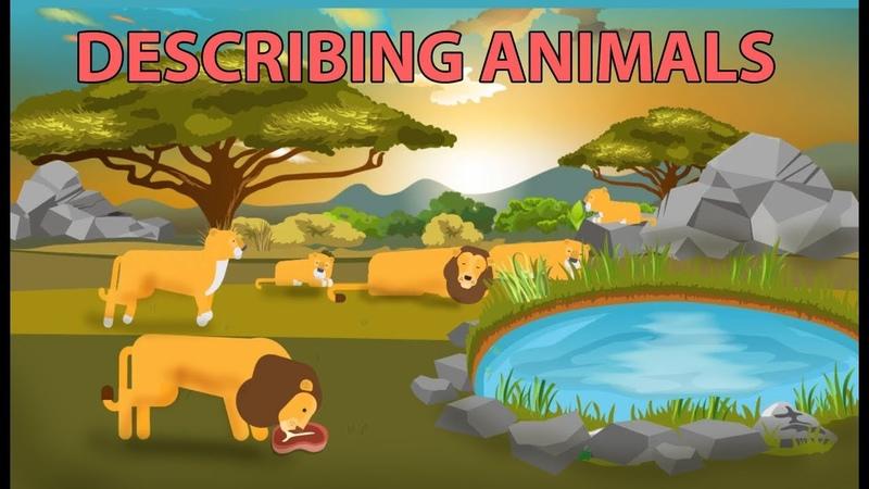 Describing Animals with Simple Present Tense