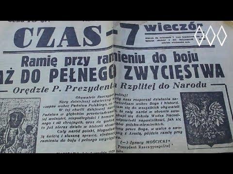 Gazeta z dnia pierwszego września 1939r.
