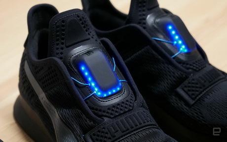 Puma выпустит кроссовки с автоматической шнуровкой.