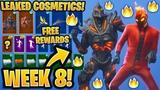 NEW All Leaked Fortnite Skins &amp Emotes..! WEEK 8 SKIN (Ruin, Inferno, OG Reflex, Dream Feet..)