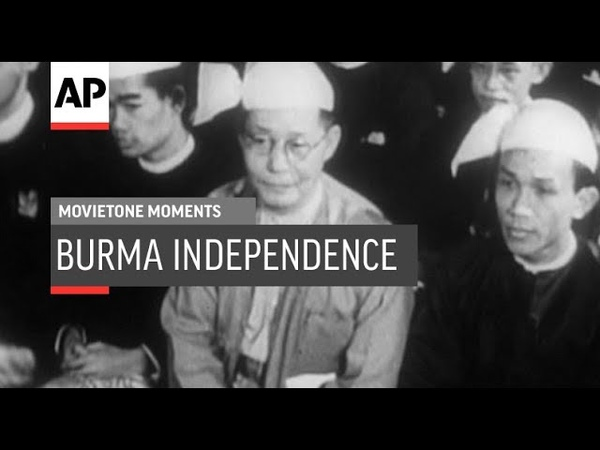 Burma Independence Celebrated In London - 1948 | Movietone Moments | 4 Jan 19