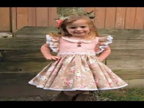 Cute Stylish Baby Frock Design 👗 Fashion Girls 2018