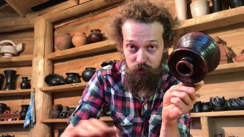 Как сделать воронку из глины Обучение гончарству Волшебство керамики