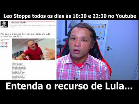 Entenda o recurso de Lula...