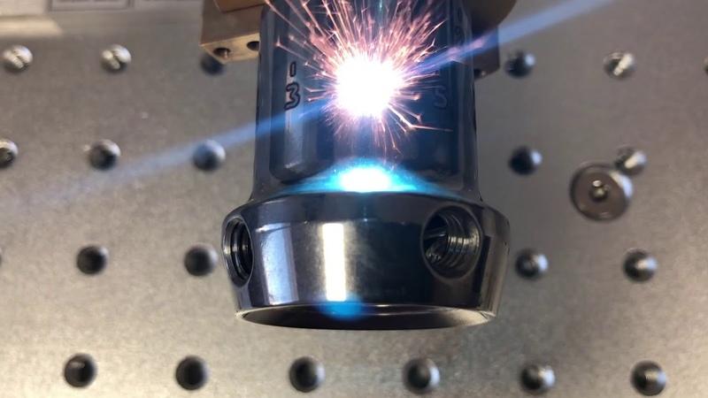 Гравировка по окружности - Волоконный лазерный маркер по металлу G-MARK