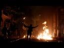 Анархисты устроили беспорядки после мирного марша