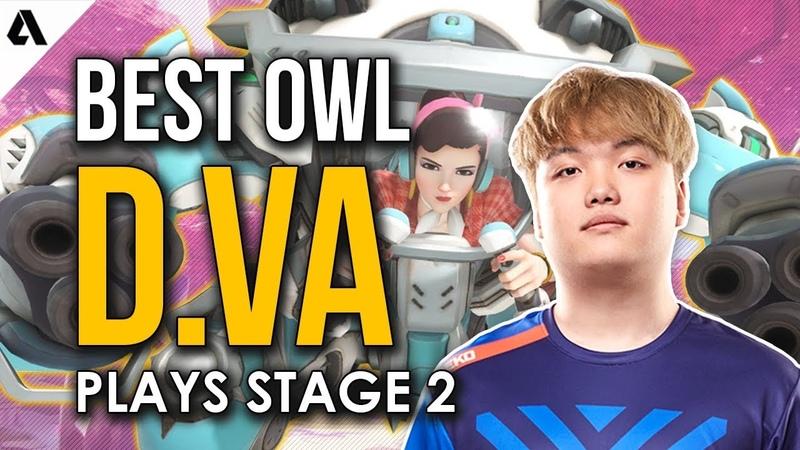 Best Overwatch League D.Va Plays | OWL Stage 2 ft. Fury Poko MekO Bischu Envy