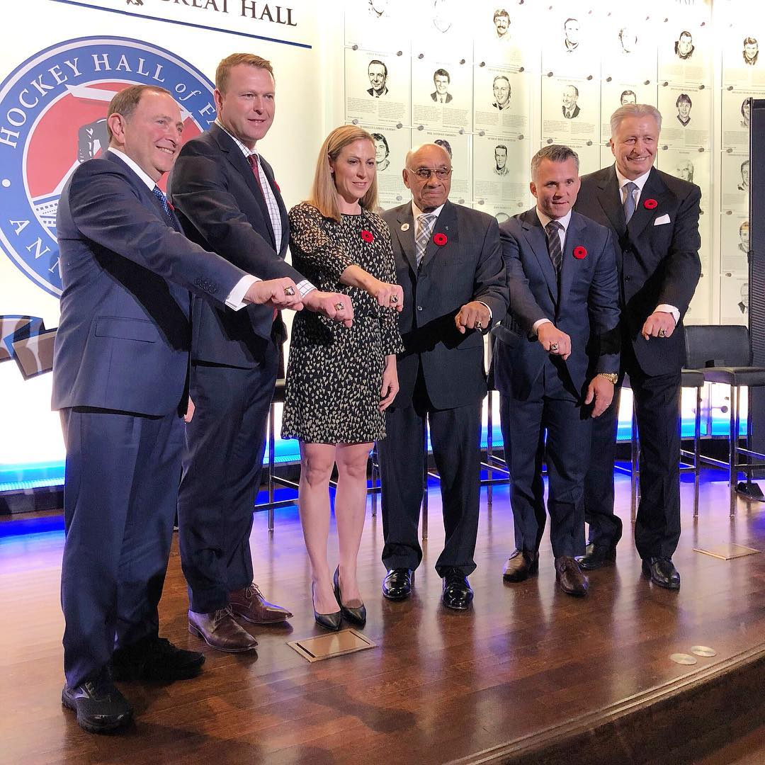 Александр Якушев включен в Зал хоккейной славы НХЛ (Видео)