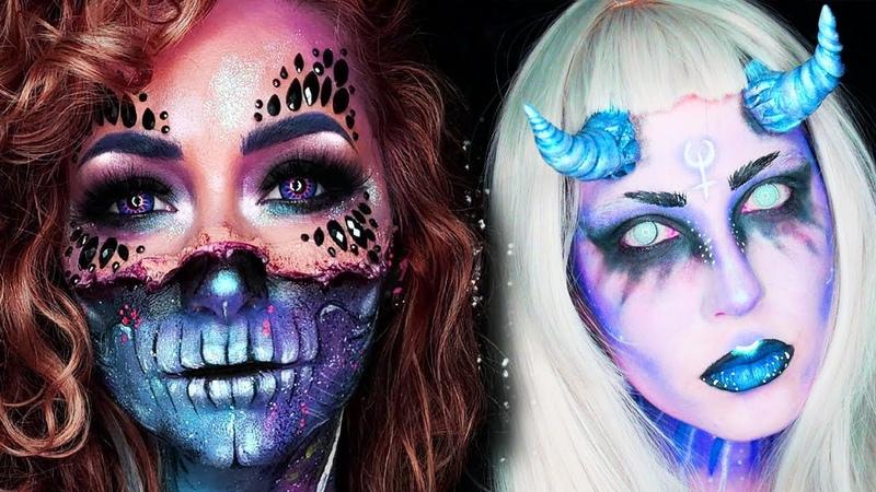 15 Cool DIY Halloween Makeup IDEAS GRWM DYI Costumes 2018