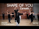 Shape of You Carnatic Indian Contemporary Amit Patel Indian Raga