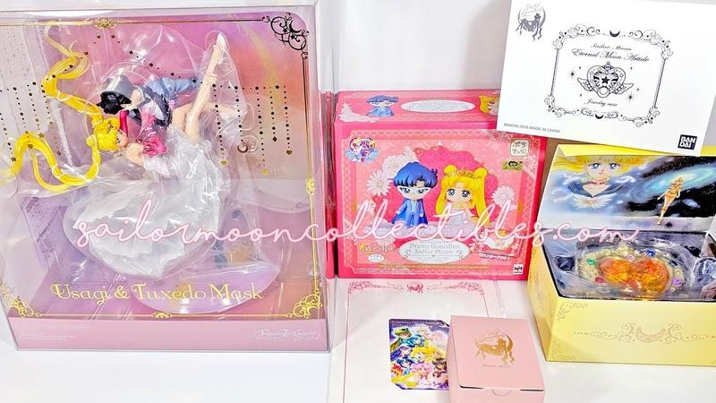 Unboxing Sailor Moon Toys: Usagi Tuxedo Mask Dancing Figure, Eternal Compact More