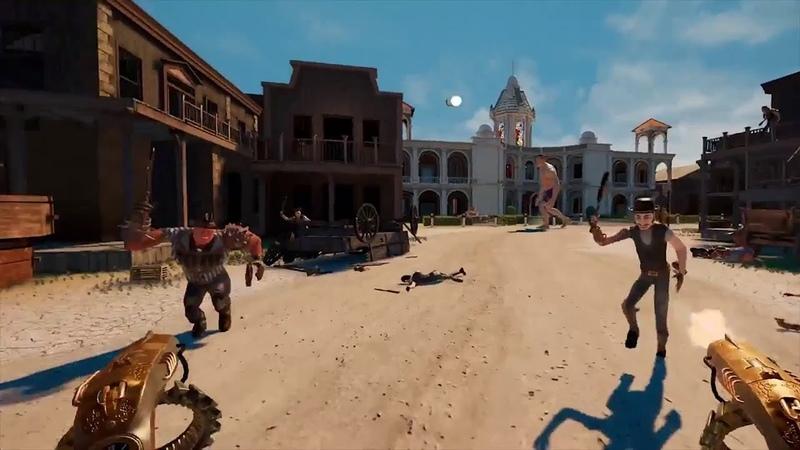 Guns'n'Stories: Bulletproof VR - Release Trailer [VR, Oculus Rift, HTC Vive, WMR]