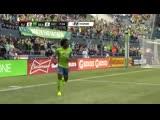 Обафеми Мартинс (Сиэтл Саундерс) - крутой гол в ворота Сан-Хосе Эртквейкс