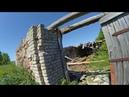 Древний фундамент в деревне Ветвеник