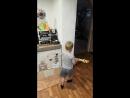 Давид настоящий танцор
