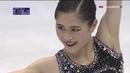 Satoko MIYAHARA JPN Free Skate 2018 NHK Trophy