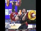 Победа Егора Климонова на Кубке мира по тяжёлой атлетике в Китае