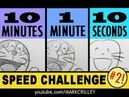DORAEMON Speed Challenge: 10 Minutes/1 Minute/10 Seconds!