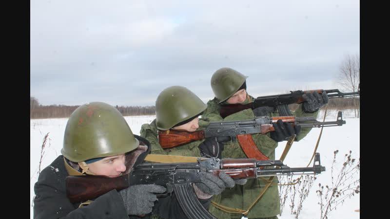 ВПК Цитадель - ТСП сержанты 1,2,3 отделения 2019 г.
